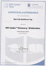 MD Codes Visionary Distinction Taipei 20