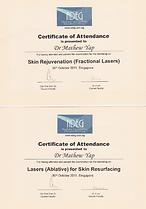 ADEG COC Frac laser skin Rejuvenation n