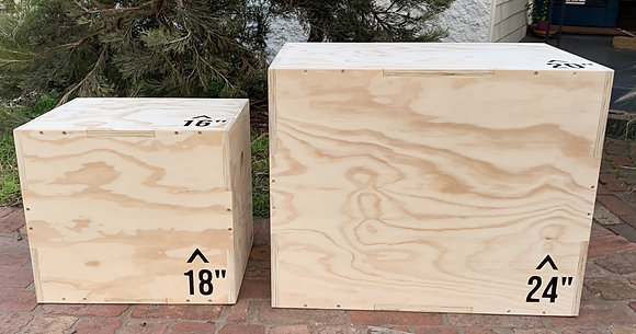 Large Plyometric Box