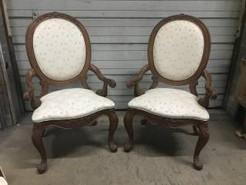 American Drew Dining Room Arm Chair Pair $250