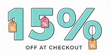 Come in this Friday, July 26th from 11:00 - 4:00 for a special 15% OFF EVERYTHING SALE!