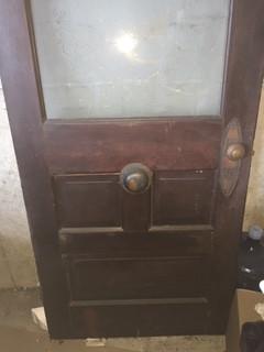 Antigue Entry Door