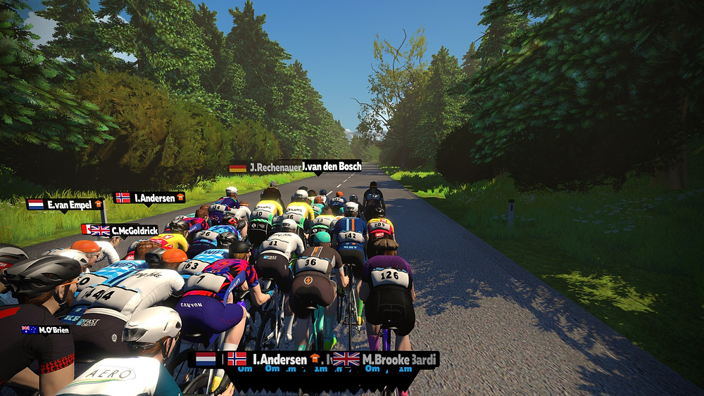 Harrogate worlds course zwift ZRL