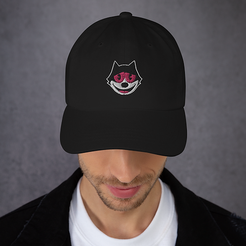 """Bag Of Tricks Cat"" Dad Hat"