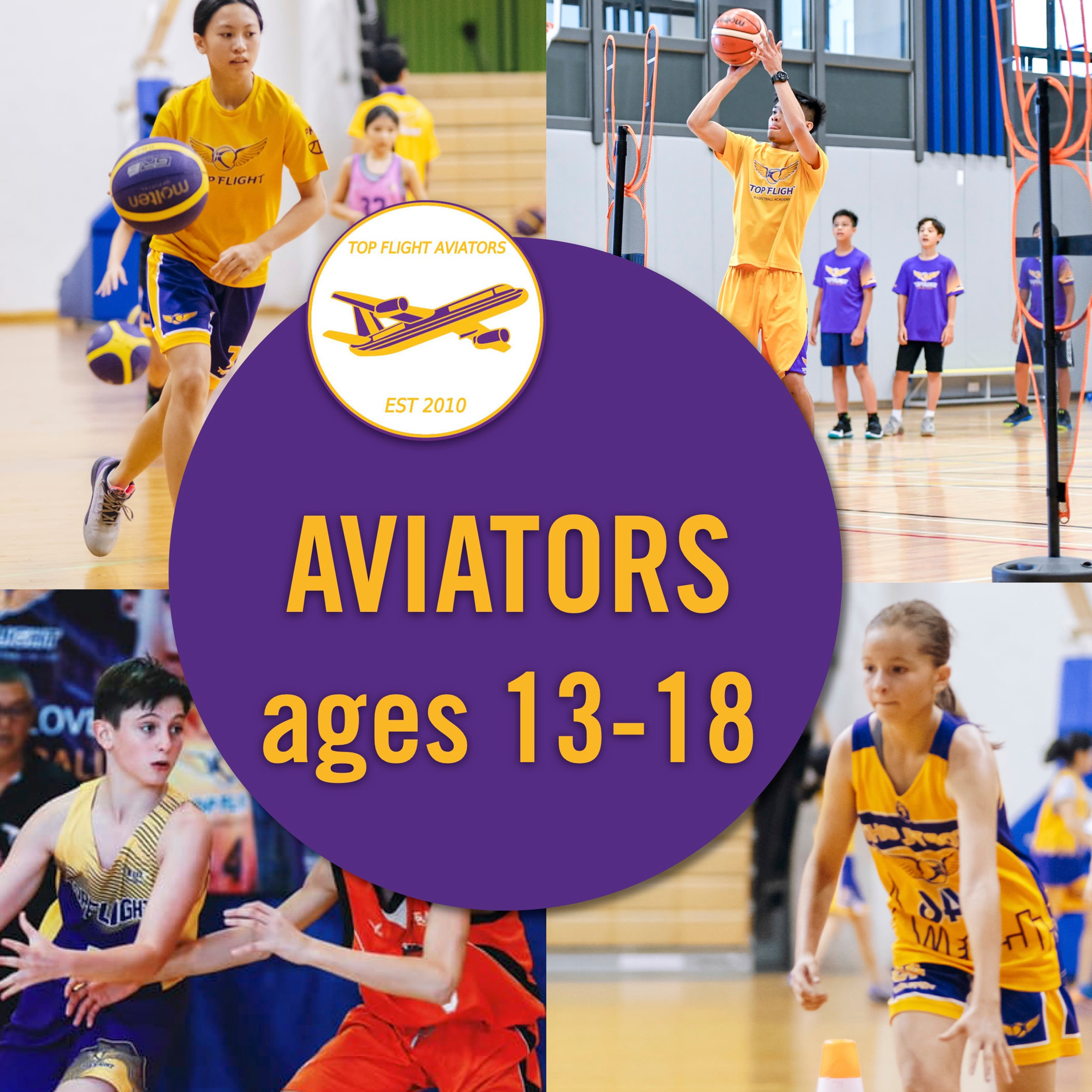 Aviators ages 13-17/09:00-10:30