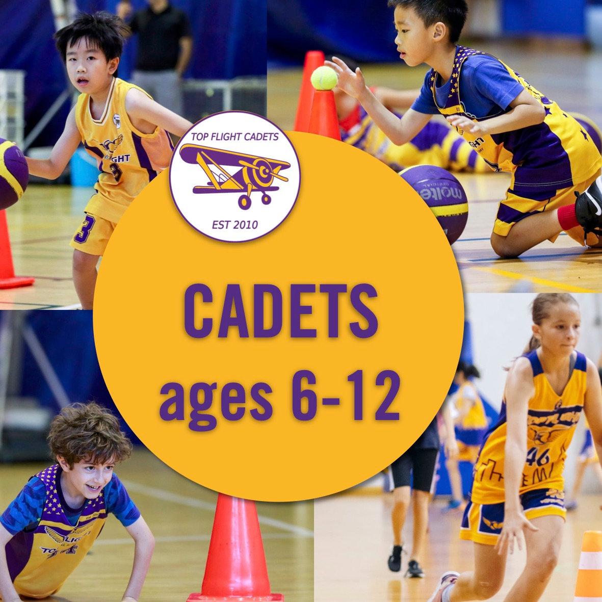 Cadets ages 6-12 / 10:30-12:00 / SISB PU
