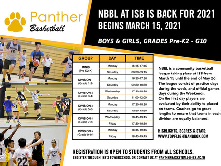 NBBL is Back!