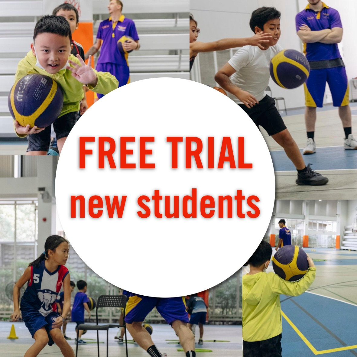 Free Trial -ages 3-18 - 10:30-12:00/SISB
