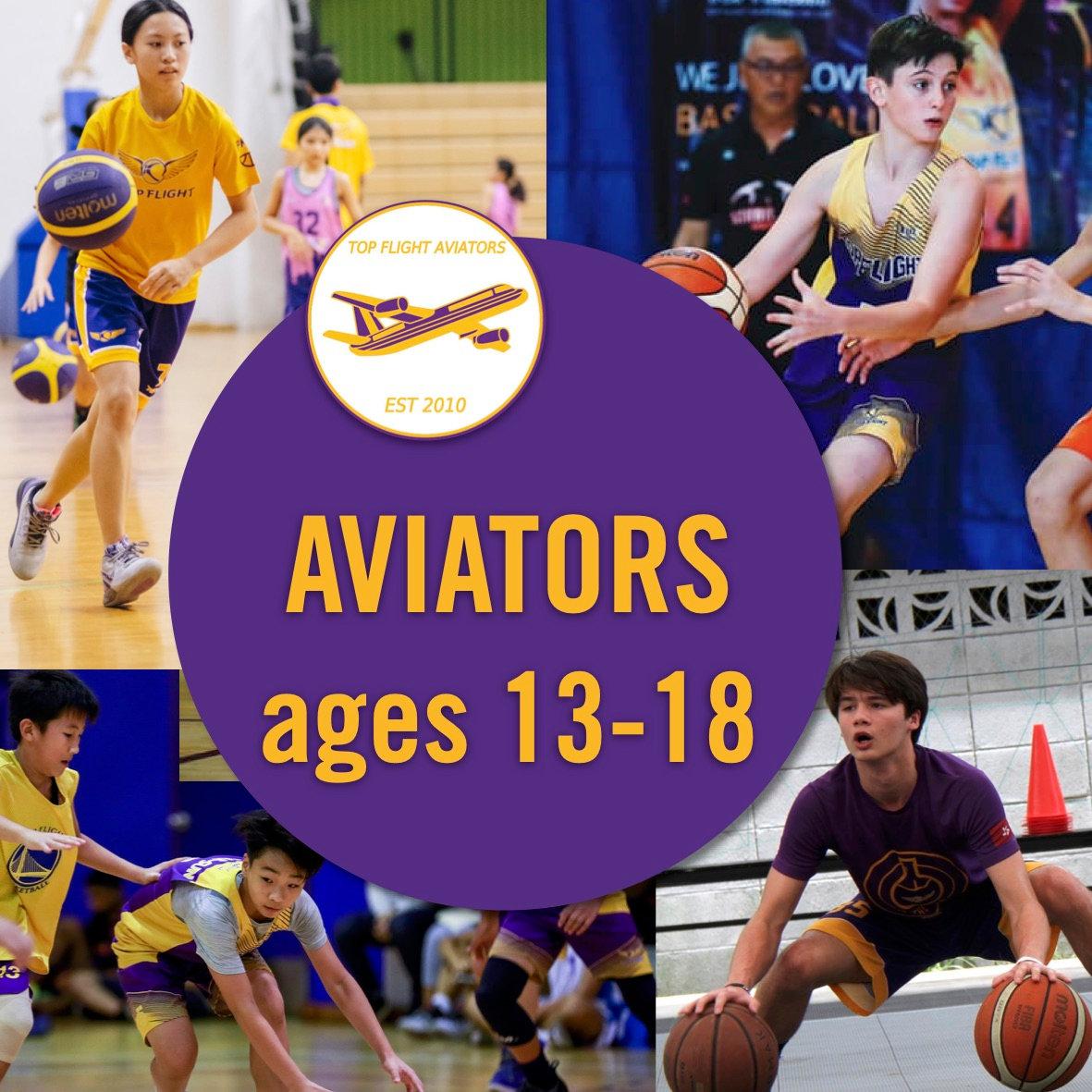 Aviators ages 13-18 /10:30-12:00/SISB PU
