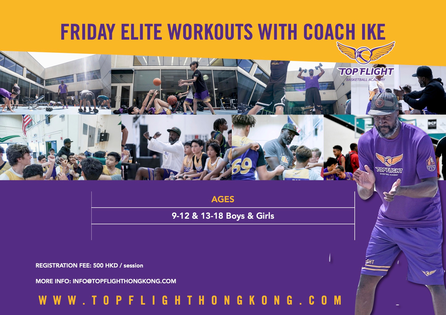 Friday Workout with Coach Ike