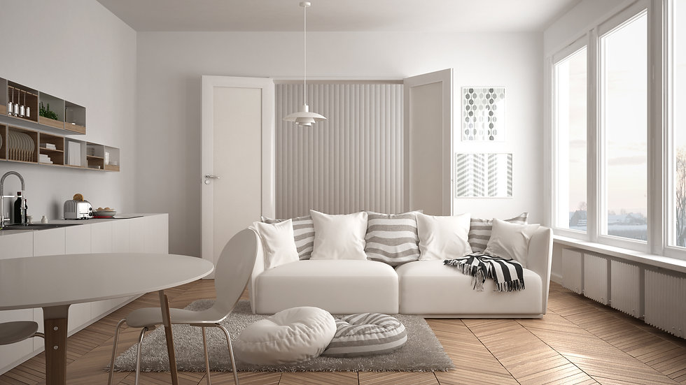 Canva - Scandinavian modern living room