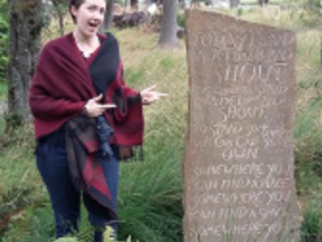 Poetry Trail II: Corbenic Poetry Path