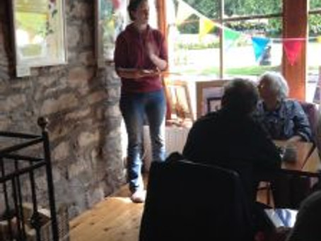 Nicholson Gallery Poetry Reading with Eileen Carney Hulme, Forres