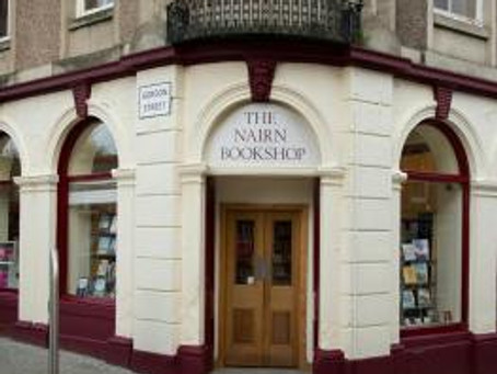 Prodigals and Parting Glass: The Nairn Bookshop, 9th March 2016