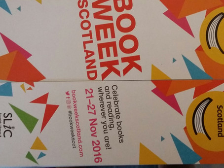 Book Week Scotland: A wee bunch of DAFTies, Banff Castle