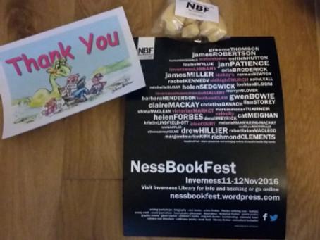 NessBookFest 2016: A Sample