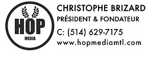 Christophe Brizard Fondateur Hop Media
