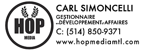 Carl Simoncelli Business Development Manager Hop Media
