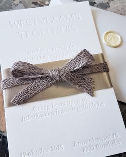 Invite Westvlaams-Tegelhuis
