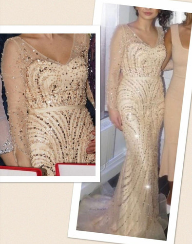 Långklänning köpt från Beauty Queens. | secondstory