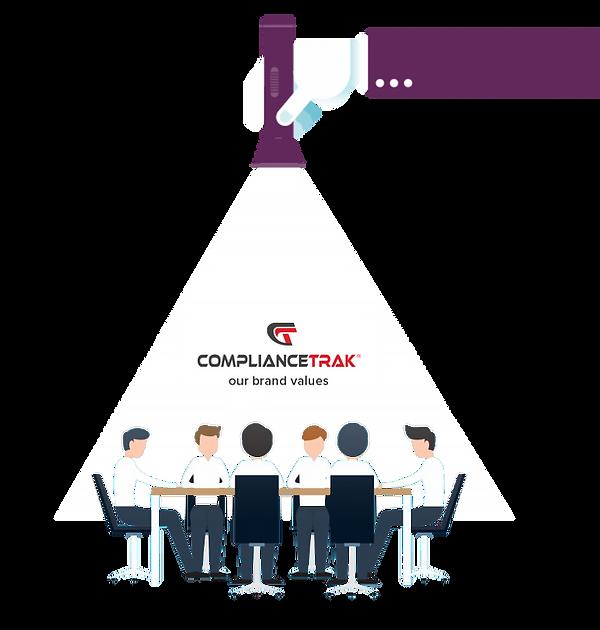 ComplianceTrak Brand Values