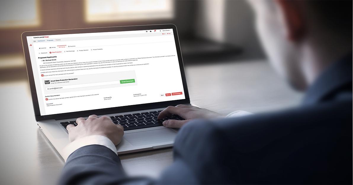 ComplianceTrak Finance Tracker