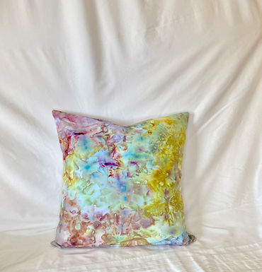 Ice Dyed Pillow #8