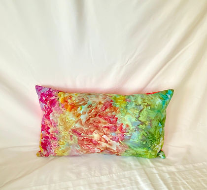 Ice Dyed Pillow #4