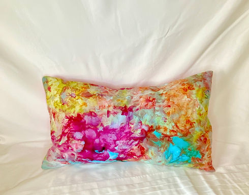 Ice Dyed Pillow #5