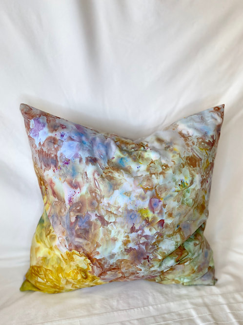 Ice Dyed Pillow #9