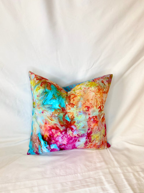 Ice Dyed Pillow #2