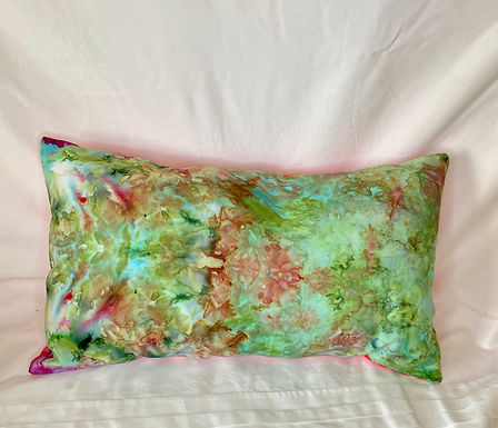 Ice Dyed Pillow #6