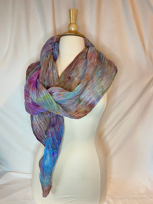 Ice Dyed Wrap #6