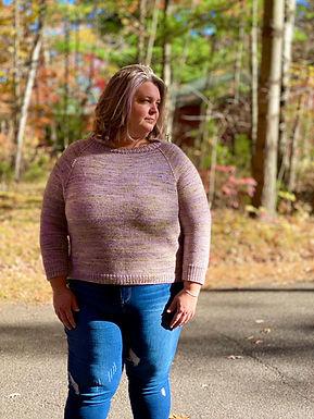 Moonlit Sprig Sweater PDF Pattern