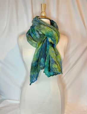 Ice Dyed Wrap #5
