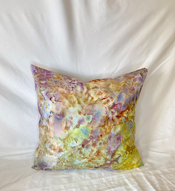Ice Dyed Pillow #10
