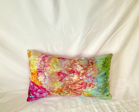 Ice Dyed Pillow #7