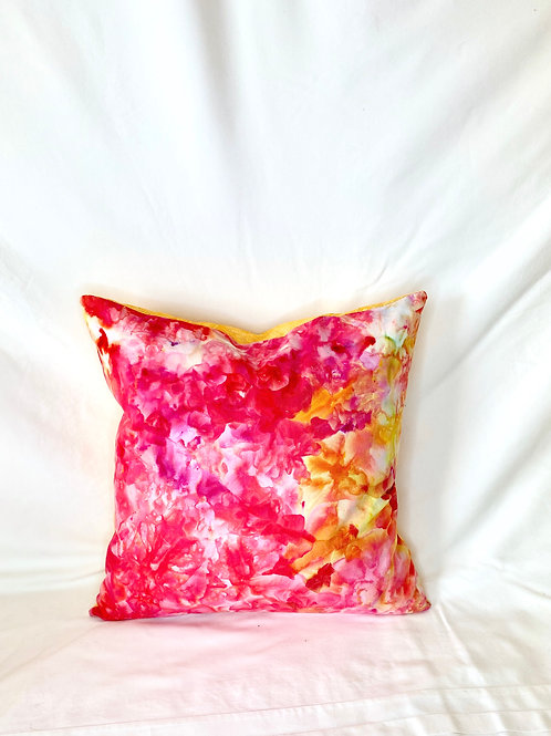 Ice Dyed Pillow #1