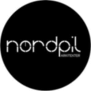191216.nordpil_logo_cirkel_hvid_på_sort.