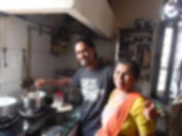 Making fresh Bay Chai in New Delhi, India