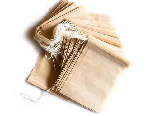 Fillable Paper Tea Bags - 50 Pieces