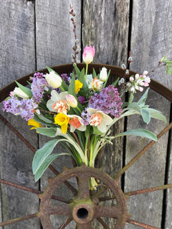 Bouquet early spring wheel 2020