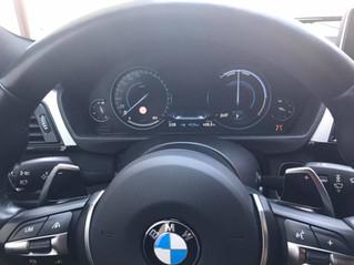 Compteur Black Panel 100% digital sur la BMW série 3 F30 de 2012