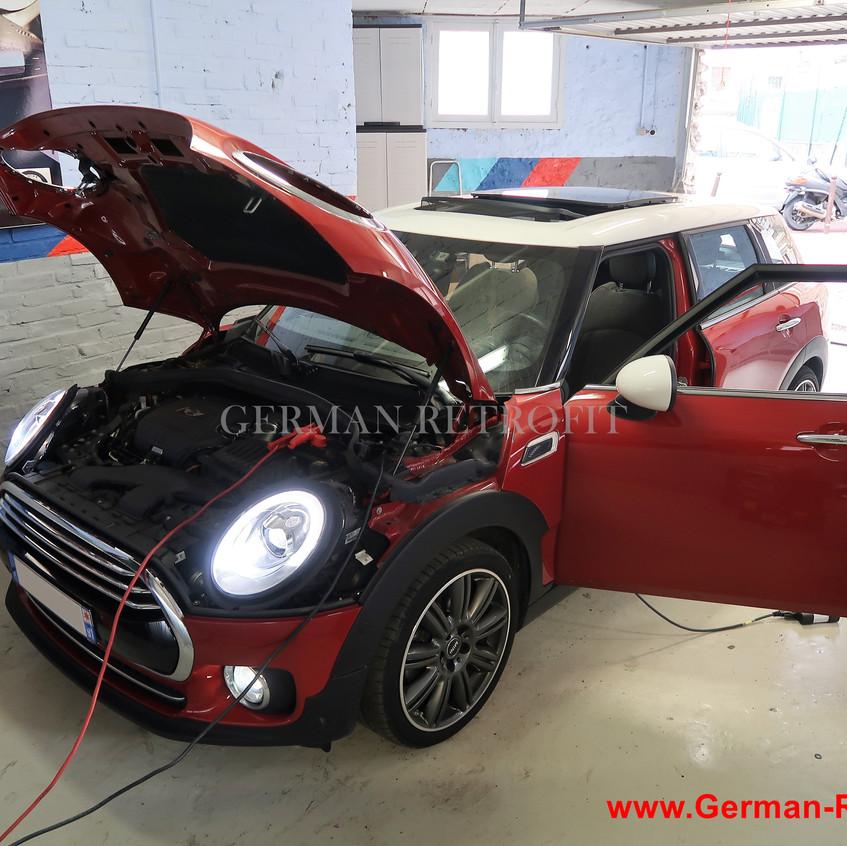 BMW MINI iDrive NBT EVO CIC Carplay GPS Android Ecran tactile  GERMAN RETROFIT