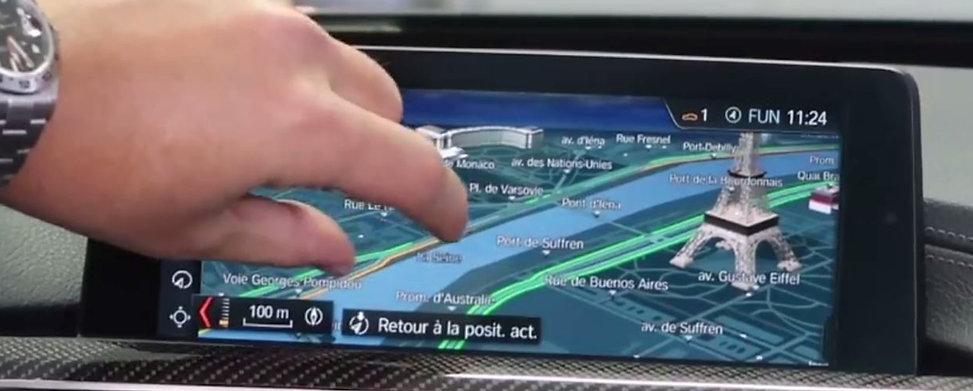 NAVIGATION GPS PROFESSONAL BMW NBT EVO ECRAN TACTIL | GERMAN RETROFIT