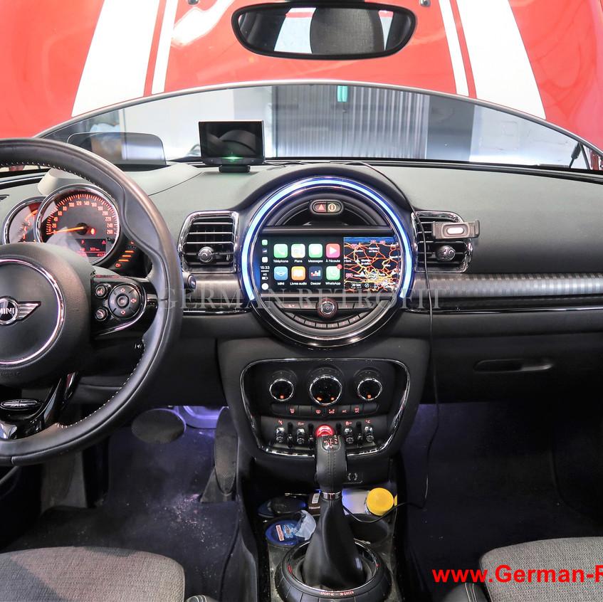 Post-équipement_Ecran_Tactile_Android_Apple_Carplay_MINI_BMW__GERMAN_RETROFIT