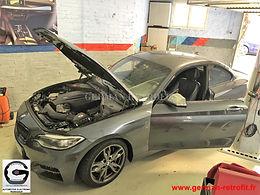 Post-équipement électronique | BMW M235i de 2014
