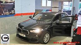 Nouveau BMW X2 F39 : Post-équipement du système iDrive Professional BMW de dernière génération