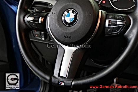 REMPLACEMENT VOLANTS CUIR M SPORT PALETTES BMW   GERMAN RETROFIT
