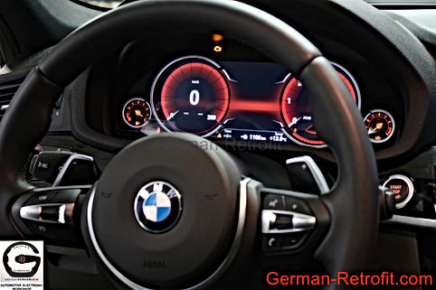 REMPLACEMENT VOLANTS CUIR M SPORT PALETTES BMW | GERMAN RETROFIT